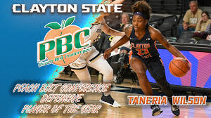 Clayton State's Taneria Wilson Takes Home Peach Belt Conference Defensive  Player of the Year, First-Team Honors - Clayton State University Athletics