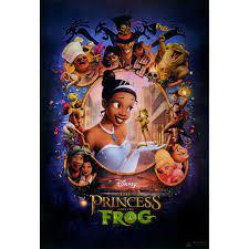 """โปสเตอร์ หนัง การ์ตูน มหัศจรรย์มนต์รักเจ้าชายกบ The Princess and the Frog  2009 POSTER 24""""x35"""" Inch Music Fantasy Disney"""