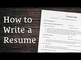 8 Tips For Writing A Winning Resume Youtube