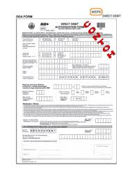 Direct Debit Form Rhb Direct Debit Authorization Form Kwsp - Fill Online, Printable ...