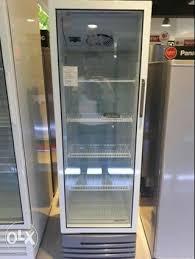 glass door freezer upright off 70