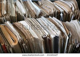 messy file cabinet. Files In A Messy Old-fashioned Archive File Cabinet G