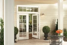 exterior view of garden patio door