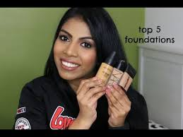 top 5 foundation for tan skin tones