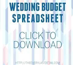 wedding budget template for excel how to make a wedding budget spreadsheet on excel wedding budget via
