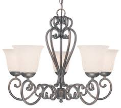 cape cod 5 light chandelier in oil rubbed bronze finish
