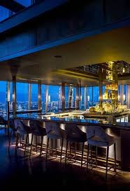 restaurant bar lighting. dramatic lighting and views the aqua shard restaurant bar on 31st floor of r