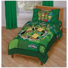 tmnt toddler bedding sets with solid maple wood bed frame twin size bed twin