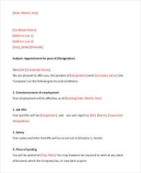 Free Appointment Letters - 35+ Free Word, Pdf Documents Download ...