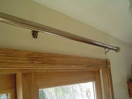 eye catching patio door curtain rods on best installing rod over intended for sliding glass decorations 9
