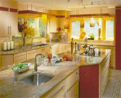 Yellow Wall Kitchen Yellow Kitchen Themes Winda 7 Furniture