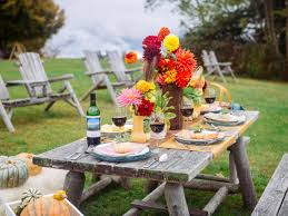 Outdoor Table Decor Decor Outdoor Table Decoration To Entertain Table Setting Ideas