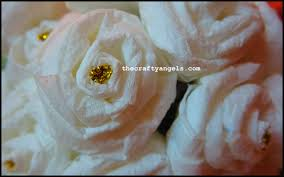 How To Make Rose Flower With Tissue Paper How To Make Tissue Paper Rose Flowers 8 The Crafty Angels