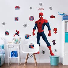 spiderman large character wall sticker
