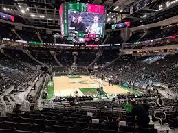 Fiserv Forum Section 102 Milwaukee Bucks Rateyourseats Com