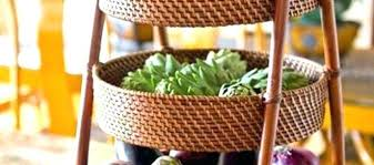 kitchen countertop fruit baskets well liked basket for counter best images on stand