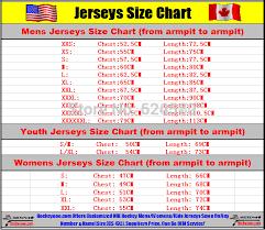 Reebok Youth Jersey Size Chart Nhl Www Bedowntowndaytona Com