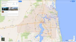 jacksonville florida map