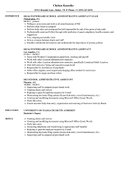Administrative Assistant Resume Samples School Administrative Assistant Resume Samples Velvet Jobs 48