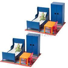 ikea doll furniture. 2 X IKEA HUSET Children Kids Doll House Miniature Bedroom Furniture Toys NEW Ikea