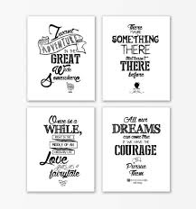 Beauty And The Beast Quotes Best of Disney Beauty And The Beast Nursery Print QuotesBeauty Beast