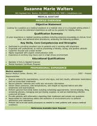free medical assistant resume samples you can use nowentry level medical assistant