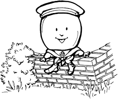 humpty dumpty coloring page save noted printable humpty dumpty coloring pages to and print