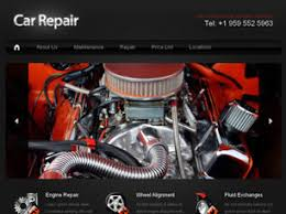auto parts website template free cars website templates 28 free css