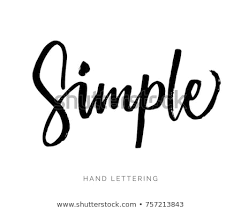 Simple Hand Written Elegant Word Your Stock Vector Royalty Free
