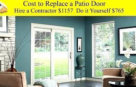 patio door replacement cost replace bedroom door large size of glass bedroom door replacement cost front