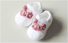 Newborn Booties Crochet Pattern