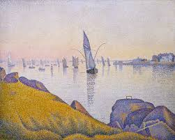 best paul signac images georges seurat evening calm concarneau opus 220 allegro maestoso paul signac french