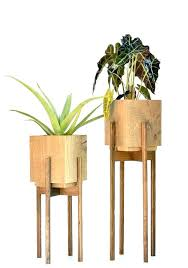 plant stand indoor wood large mid century with pot stands wooden white centur
