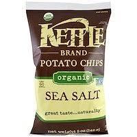 Kettle Foods, <b>Картофельные чипсы</b> со вкусом <b>барбекю</b>, <b>5</b> унций ...