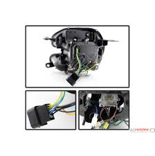 mini headlight replacement aftermarket halogen 5080615 mini cooper VW Bug Headlight Connector at Spyder Headlight Replacement Wire Harness