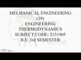 Strategy to crack Engineering Thermodynamics | 3rd Semester ...