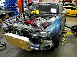 SP Engineering 1000 hp Nissan Skyline R34 not ready yet - NO Car ...