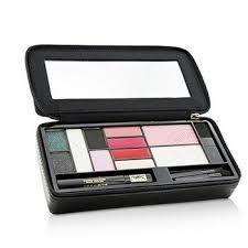yves saint lau extremely ysl tuxedo makeup essentials palette 5x powder eye shadow 1x