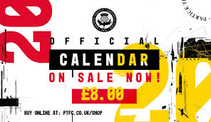 The Official 2020 Partick Thistle Calendar Is On Sale Now