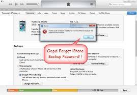 How To Reset Itunes Password