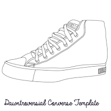Design Your Own Boots Converse Ation Starter Design Your Own Shoe Template