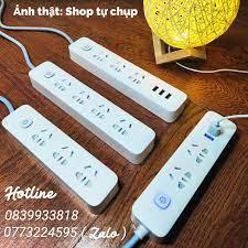 Ổ cắm điện chống giật thông minh tích hợp cổng sạc USB Ổ điện chuẩn cao  cấp. Sang trọng. - Ổ cắm điện Nhãn hàng No Brand