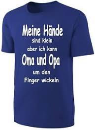 Details Zu Kinder Sprüche Shirt Oma Und Opa Blau