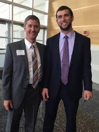 """Wendell Bontrager on Twitter: """"Rumor has it...Andrew Luck is in town!  #Colts #Futurehalloffame #ClassAct http://t.co/IpruhusMk5"""""""