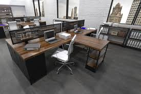 industrial office flooring. Interesting Industrial Iron Age Office  Modern Industrial Furniture Intended Flooring
