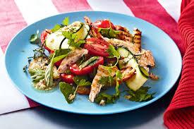 grilled chicken salad. Simple Chicken To Grilled Chicken Salad