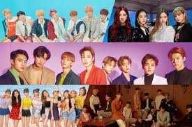 Twice Gaon Chart 2018 Bts Exo Twice Blackpink And Seventeen Officially