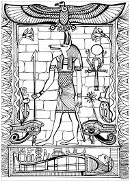 anubis associated with the afterlife in ancient egyptian religion usually depicted as a