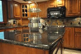 black granite countertops with tile backsplash. Granite Countertops And Tile Backsplash Ideas Eclectic-kitchen Black With H