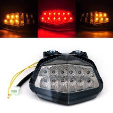 Led Lights For Ninja 250r Areyourshop Integrated Led Taillight Turn Signals For Kawasaki Ex250 Ninja 250r 2008 2012 Smoke